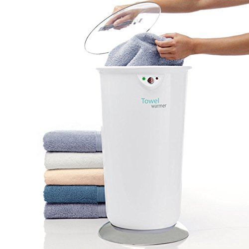 portable brookstone towel warmer