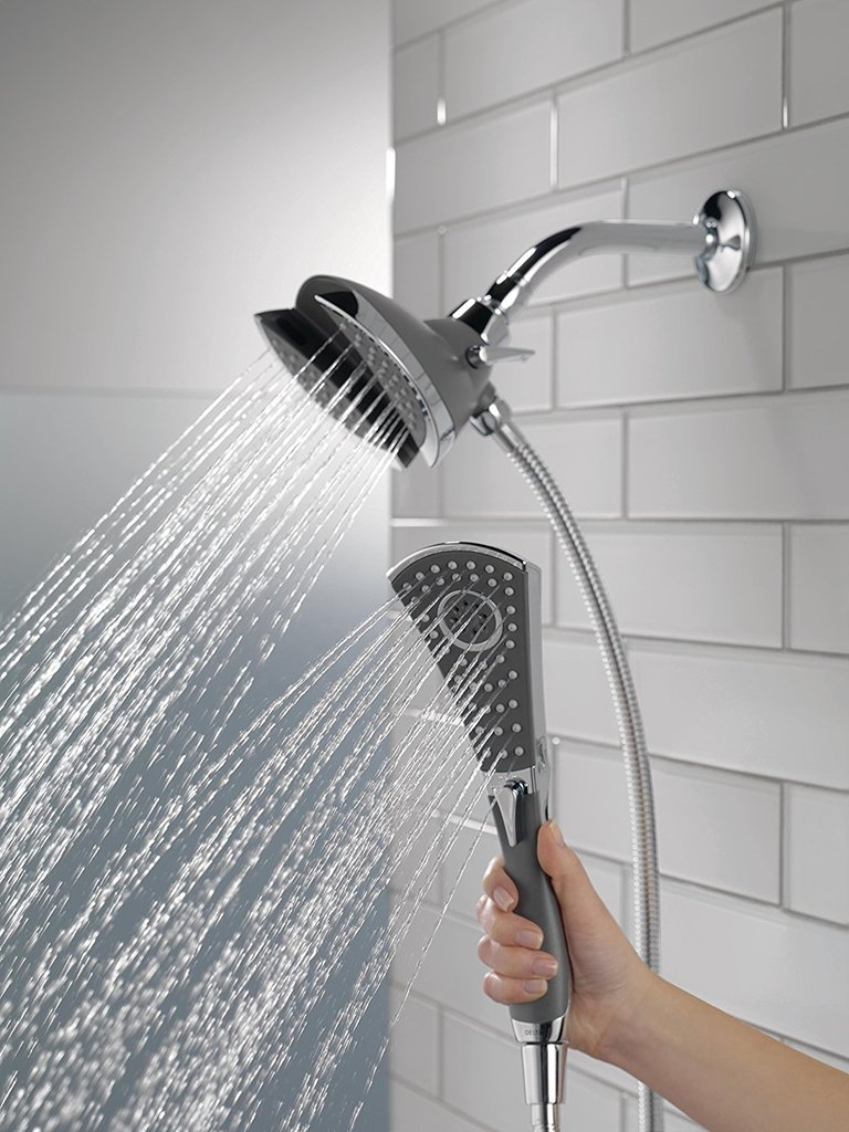 Delta In2ition 2 Function Handheld Shower Head Review