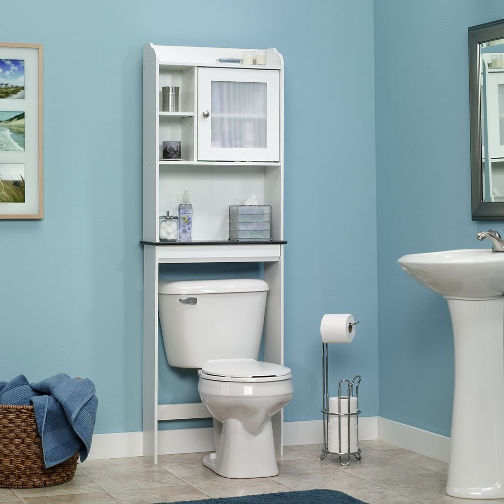 Bathroom Storage Shelves for Over-the-Toilet To Save Space