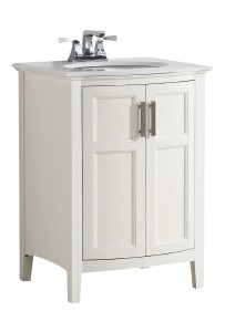24 inch small white bathroom vanity