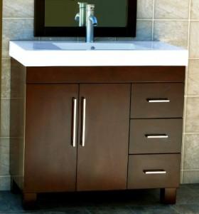 36 inch modern bathroom vanity cabinet