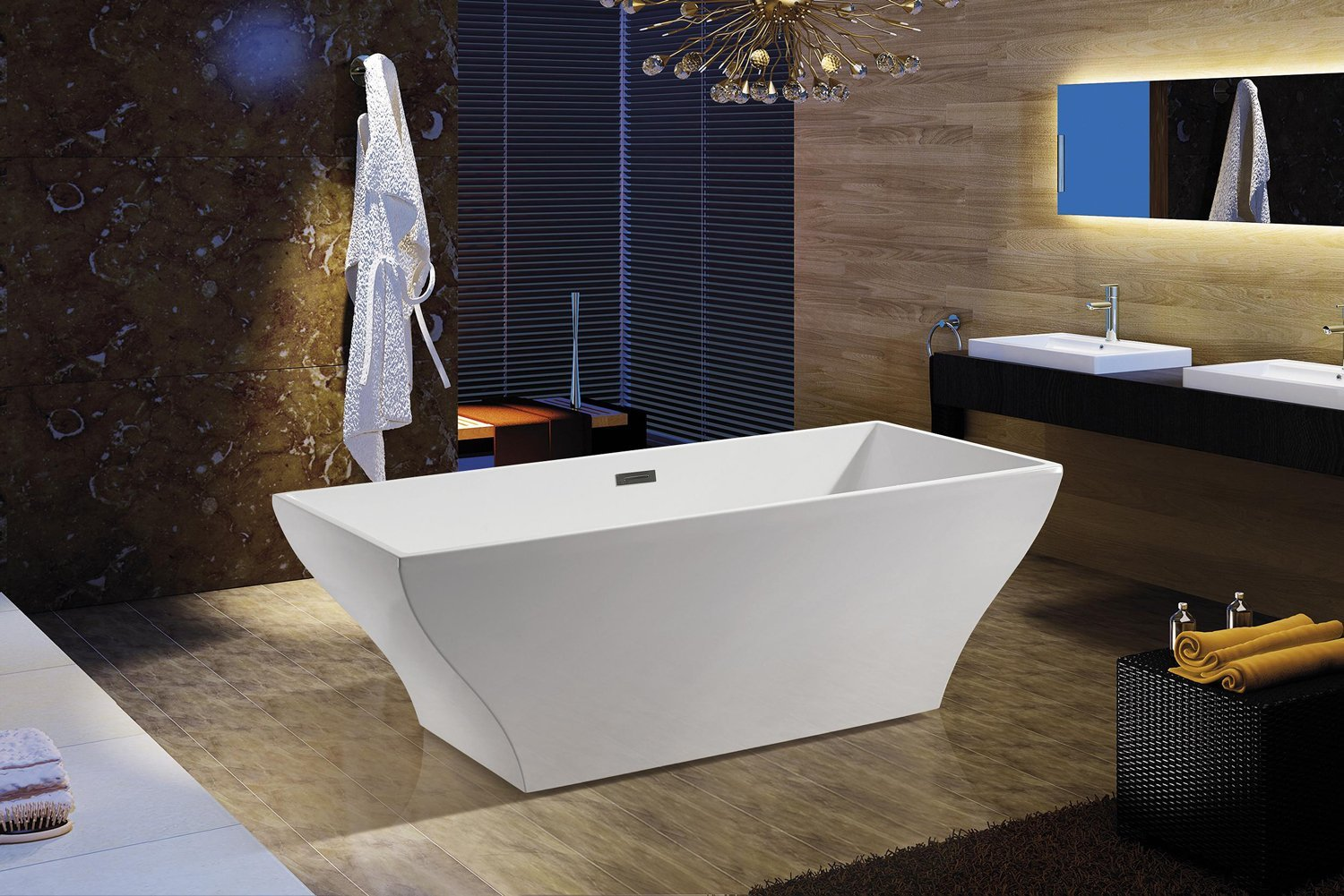 Top 5 Stand Alone and Freestanding Soaking Bathtubs