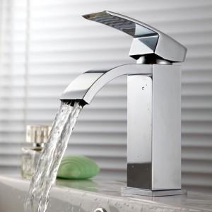 KES waterfall bathroom faucet