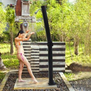 yescom foldable outdoor solar shower